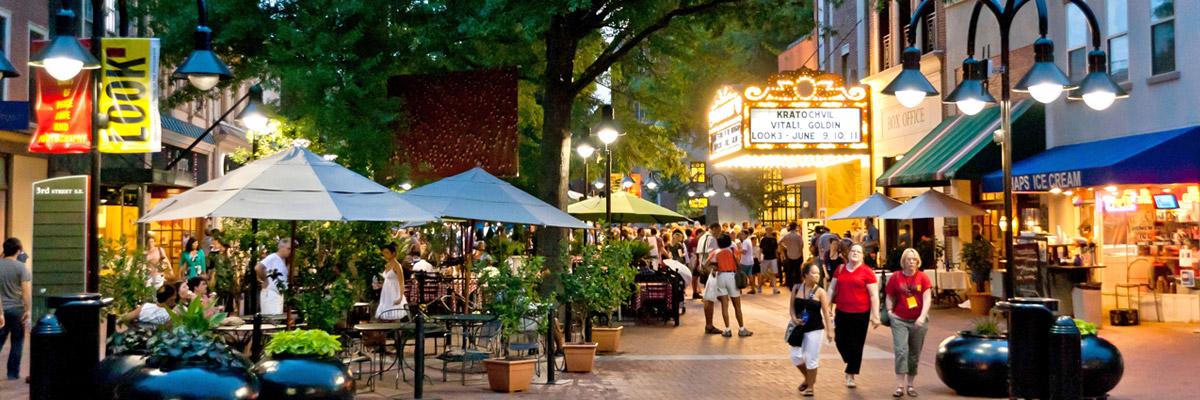 Downtown Charlottesville